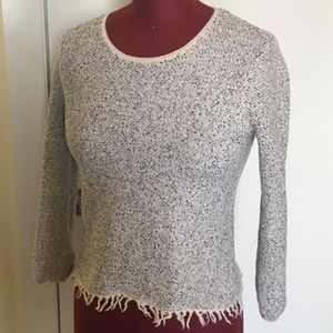 Two Theory Tops Sweater Vneck T-shirt M and S